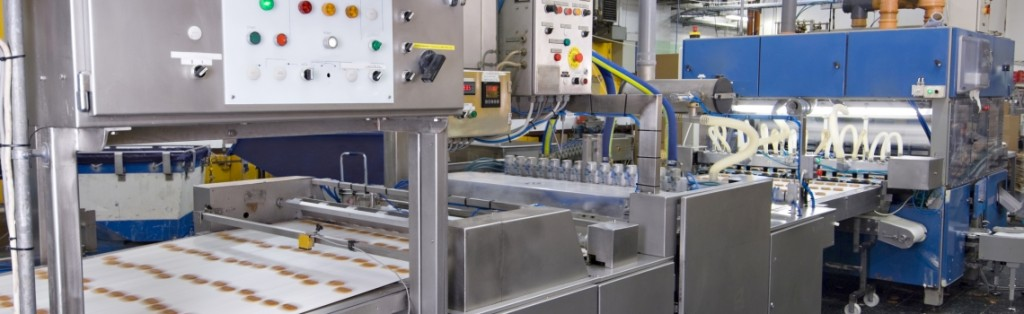 High Speed food production line using advanced PLC/SCADA control techniques