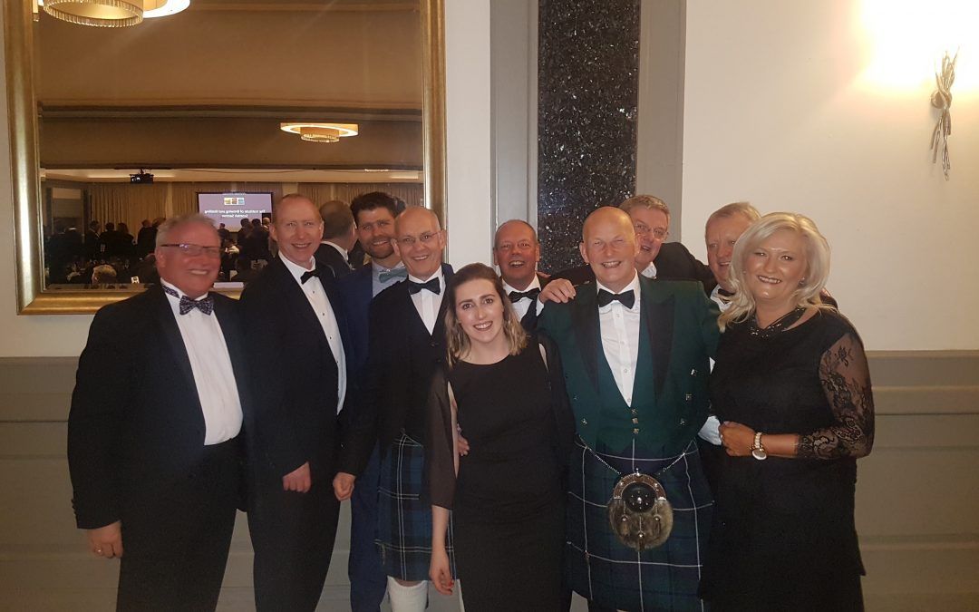 Celebrating Great Achievments at the IBD Scottish Section Annual Awards Dinner