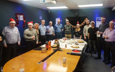 Elite Control Systems Limited raise funds for SAMH in Charity Christmas Bake Off
