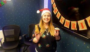 Blaire Mcleod: Winner of the AGSL/ECS Christmas Bake Off