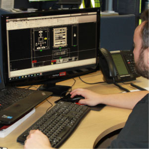 A control system that was designed by Elite's engineers