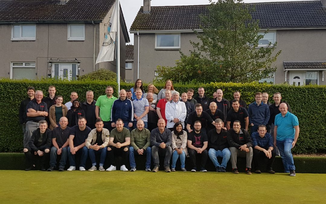 Elite Control Systems and North British Distillery Compete in Annual Charity Fundraising Lawn Bowls Day