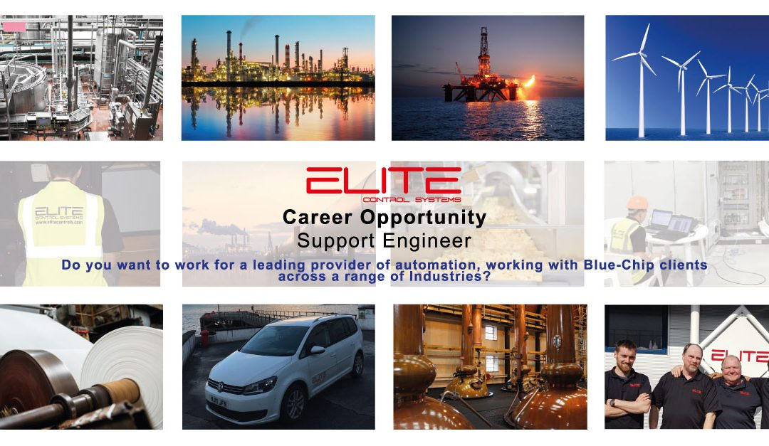 Elite Control Systems Limited – Support Engineer
