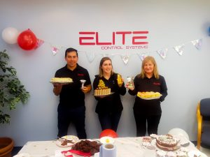 Winners from the Charity Bake Off