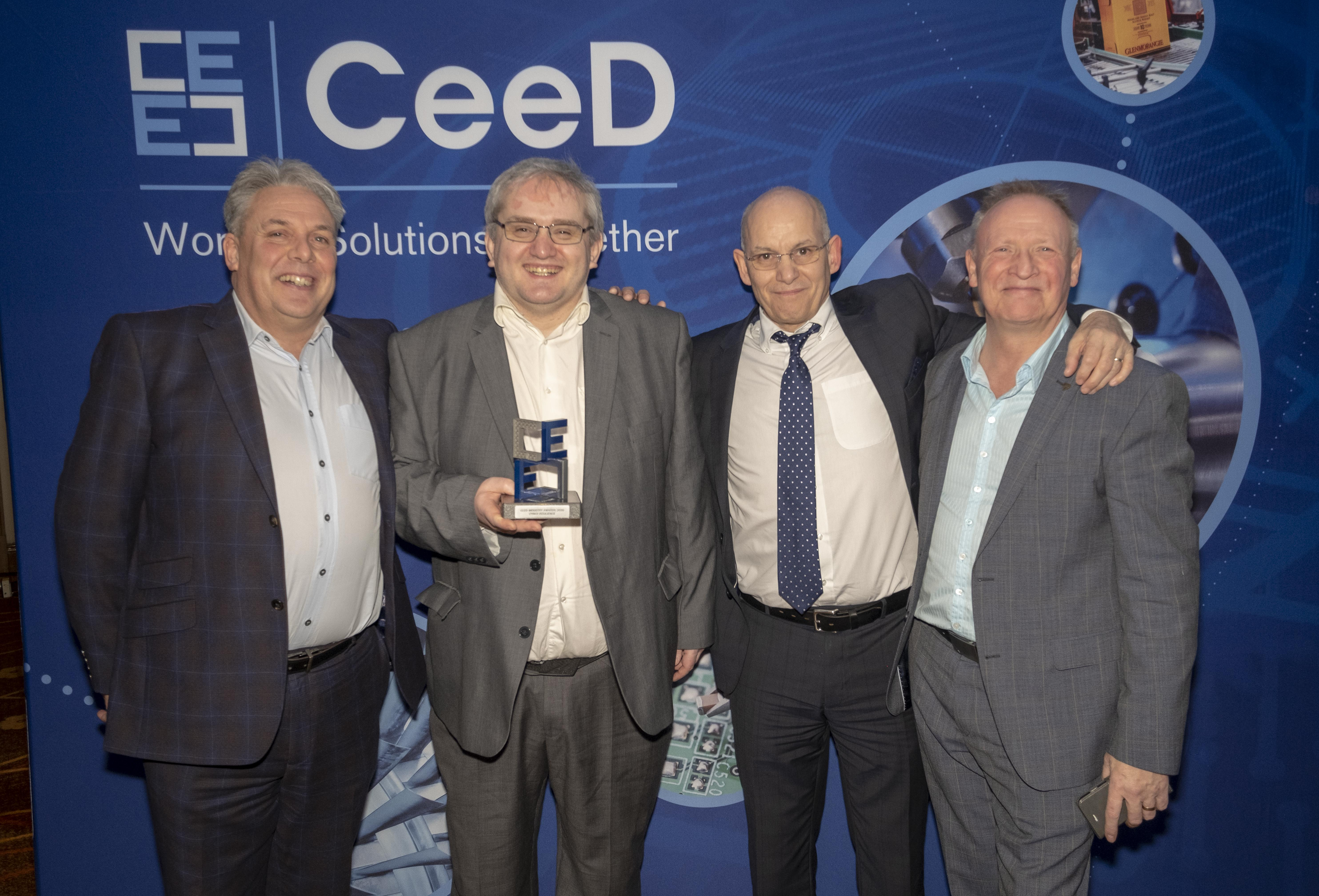 Elite Controls at the CeeD Industry Awards 2020